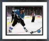 San Jose Sharks Joe Thornton NHL Stadium Series Framed Photo