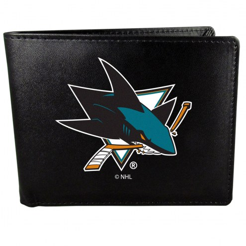 San Jose Sharks Large Logo Bi-fold Wallet