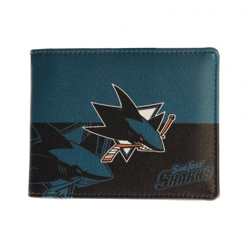 San Jose Sharks Bi-Fold Wallet