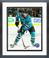San Jose Sharks Logan Couture Action Framed Photo