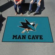 San Jose Sharks Man Cave Ulti-Mat Rug