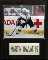 "San Jose Sharks Martin Havlat 12"" x 15"" Player Plaque"