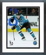 San Jose Sharks Matt Nieto Action Framed Photo