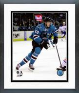 San Jose Sharks Melker Karlsson Action Framed Photo