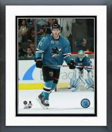 San Jose Sharks Mirco Mueller Action Framed Photo