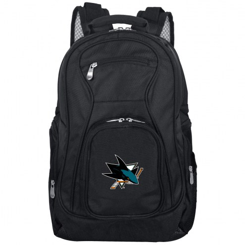 San Jose Sharks Laptop Travel Backpack