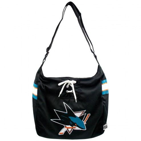 San Jose Sharks NHL Team Jersey Tote