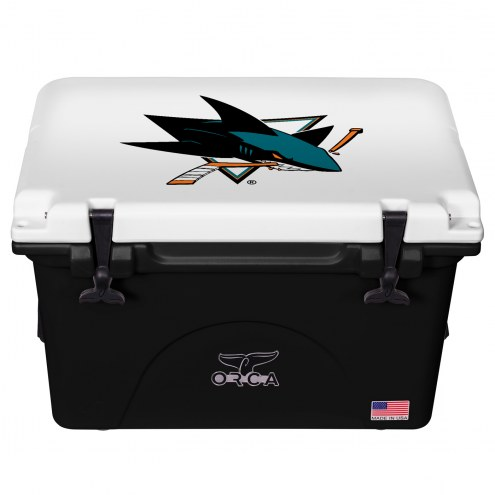 San Jose Sharks ORCA 40 Quart Cooler