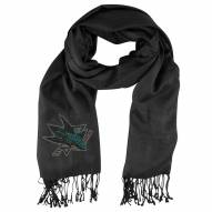San Jose Sharks Pashi Fan Scarf
