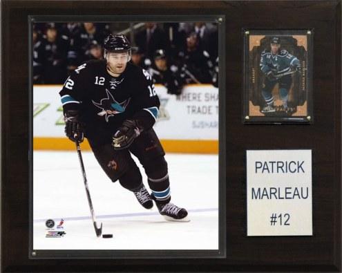 "San Jose Sharks Patrick Marleau 12"" x 15"" Player Plaque"