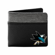 San Jose Sharks Pebble Bi-Fold Wallet