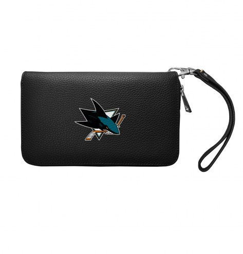 San Jose Sharks Pebble Organizer Wallet