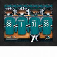 San Jose Sharks Personalized 11 x 14 Framed Photograph
