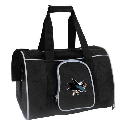 San Jose Sharks Premium Pet Carrier Bag