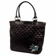 San Jose Sharks Quilted Tote Bag