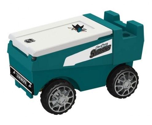 San Jose Sharks Remote Control Zamboni Cooler
