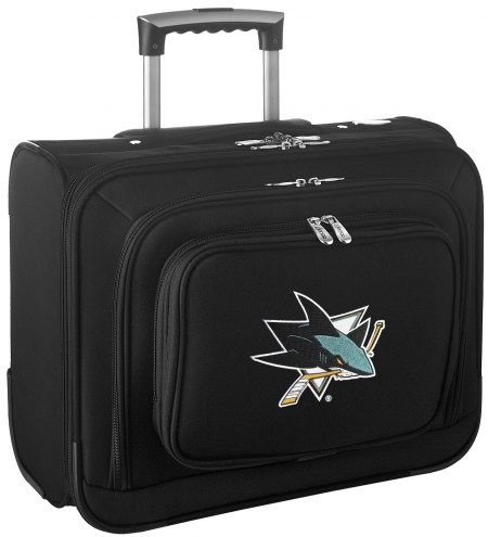San Jose Sharks Rolling Laptop Overnighter Bag