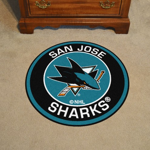 San Jose Sharks Rounded Mat