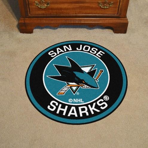 San Jose Sharks Rounded Mat