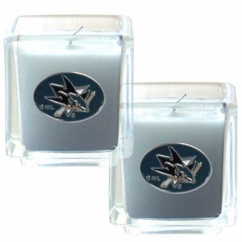 San Jose Sharks Scented Candle Set