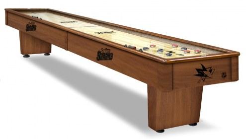 San Jose Sharks Shuffleboard Table