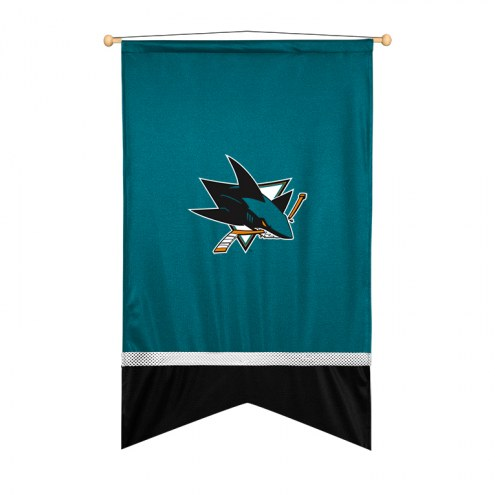 San Jose Sharks Sidelines Wall Flag