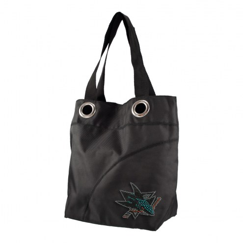 San Jose Sharks Sport Noir Sheen Tote