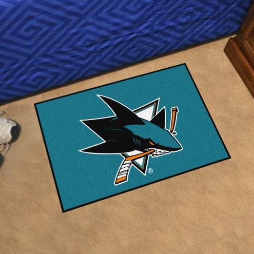 San Jose Sharks Starter Rug