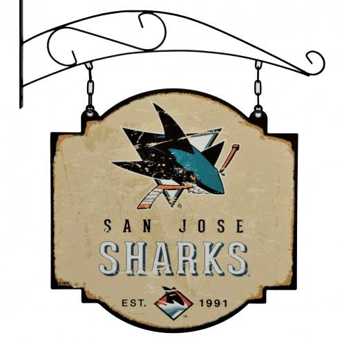 San Jose Sharks Tavern Sign