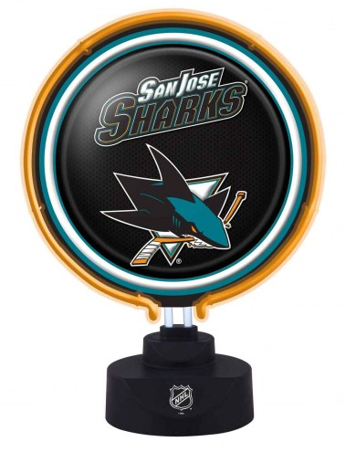 San Jose Sharks Team Logo Neon Lamp