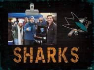 San Jose Sharks Team Name Clip Frame