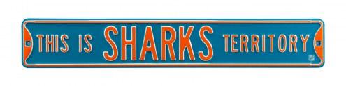 San Jose Sharks Territory Street Sign
