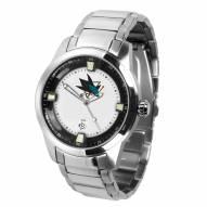 San Jose Sharks Titan Steel Men's Watch