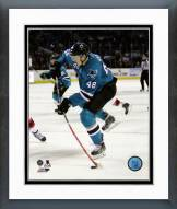 San Jose Sharks Tomas Hertl Action Framed Photo