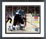San Jose Sharks Tomas Hertl 2015 NHL Stadium Series Framed Photo