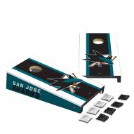 San Jose Sharks Mini Cornhole Set