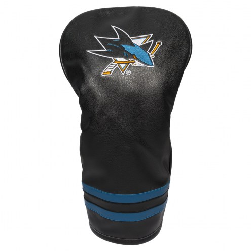 San Jose Sharks Vintage Golf Driver Headcover