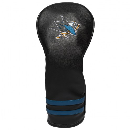 San Jose Sharks Vintage Golf Fairway Headcover