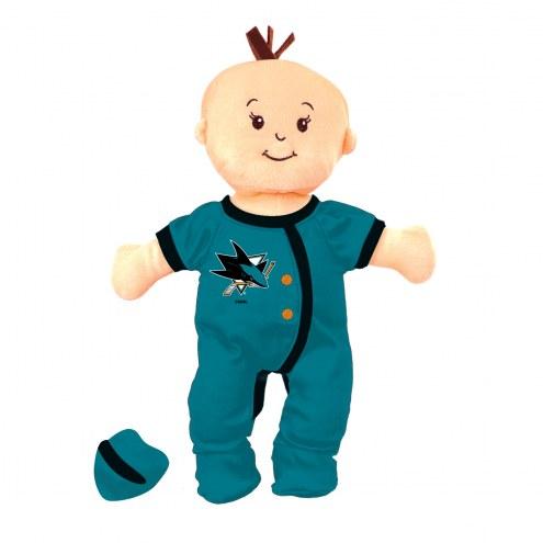 San Jose Sharks Wee Baby Team Doll