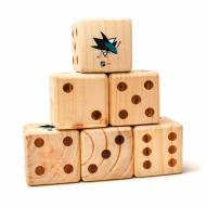 San Jose Sharks Yard Dice