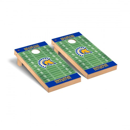San Jose State Spartans Football Field Cornhole Game Set