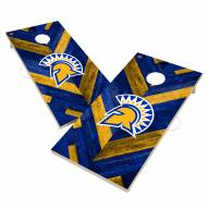 San Jose State Spartans Herringbone Cornhole Game Set