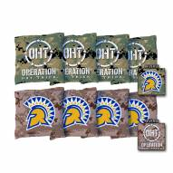 San Jose State Spartans Operation Hat Trick Cornhole Bag Set