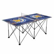 San Jose State Spartans Pop Up 6' Ping Pong Table