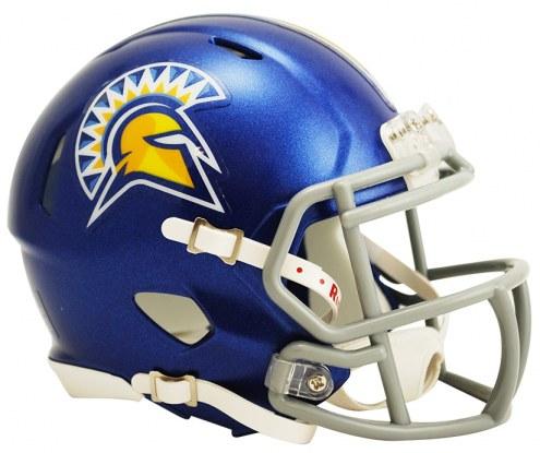 San Jose State Spartans Riddell Speed Mini Collectible Football Helmet