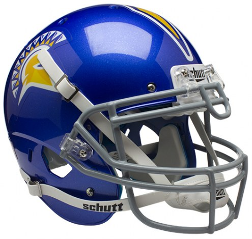 San Jose State Spartans Schutt XP Authentic Full Size Football Helmet