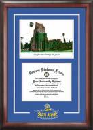 San Jose State Spartans Spirit Diploma Frame with Campus Image