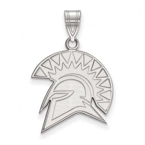 San Jose State Spartans Sterling Silver Large Pendant