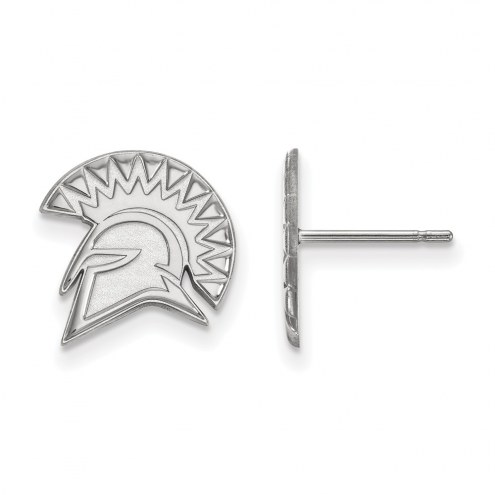 San Jose State Spartans Sterling Silver Small Post Earrings