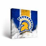 San Jose State Spartans Vintage Canvas Wall Art